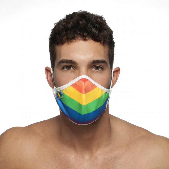 AD701 3 PACK CAMO MESH THONG PUSH UP