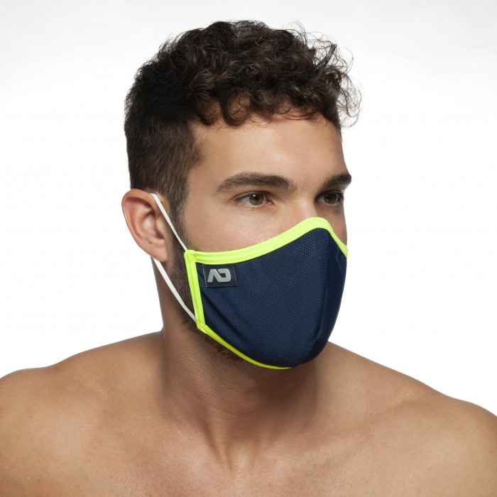 AD698P 3 PACK CAMO MESH BOXER PUSH UP
